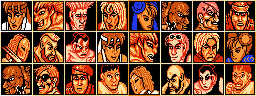 street fighter nes