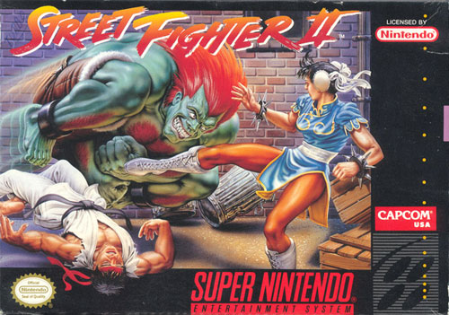 super nintendo street fighter
