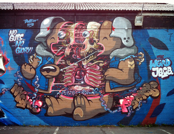 Nychos y Flying Fortress en All City Tivoli Jam Dublin