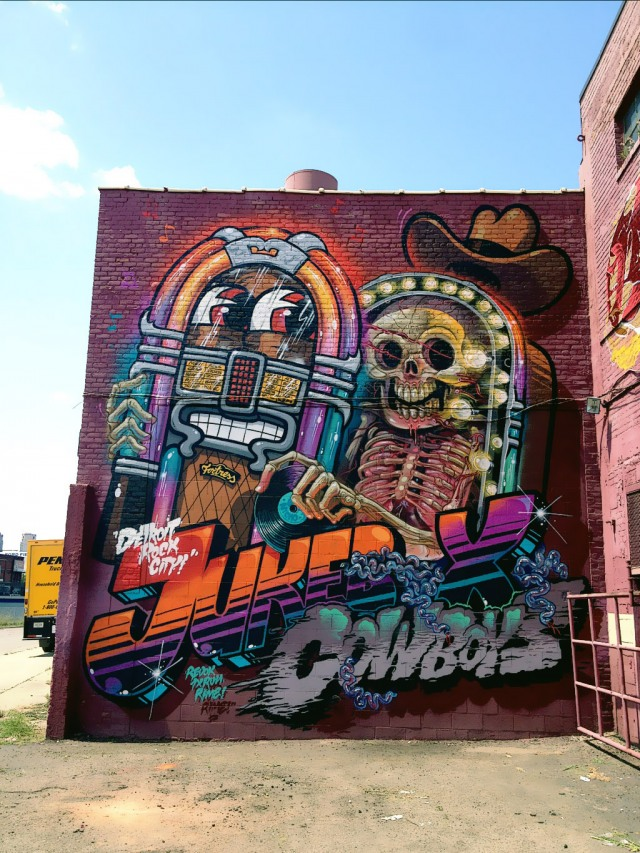 Nychos and Flying Fortress in Detroit