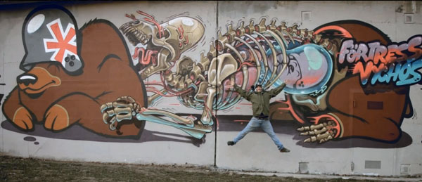 Nychos y Flying Fortress en Viena