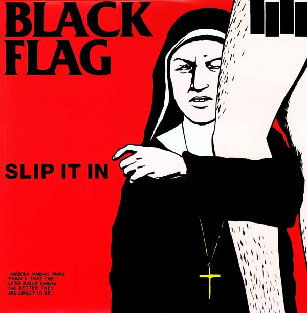 Slip it in art cover Black Flag