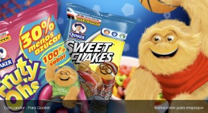 Ilustracion Quaker Sweet Flakes
